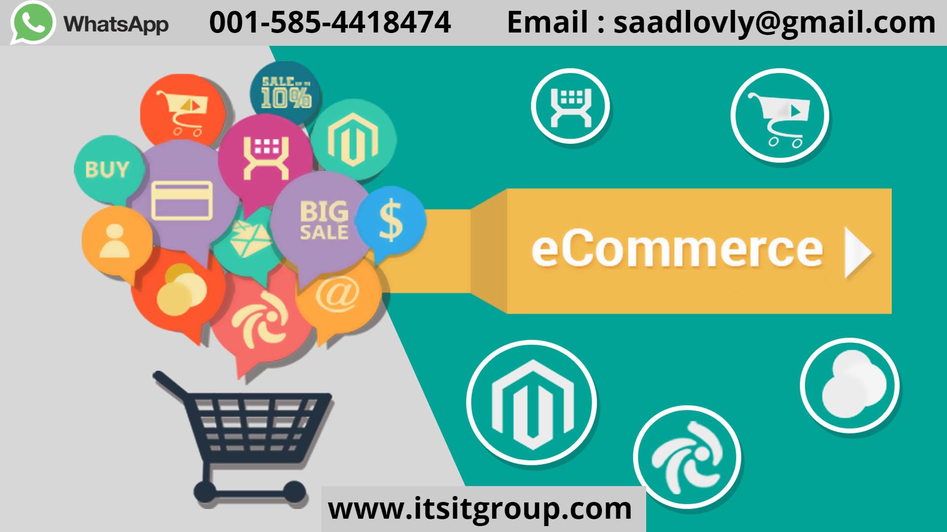 web development ecommerce